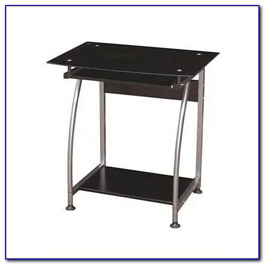 Corner Desk Dual Monitor Stand