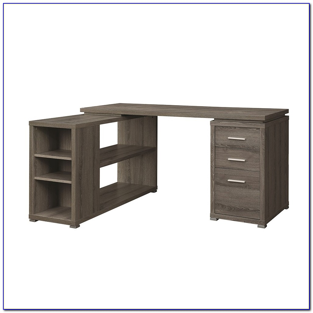 Corner Desk Shelving Unit