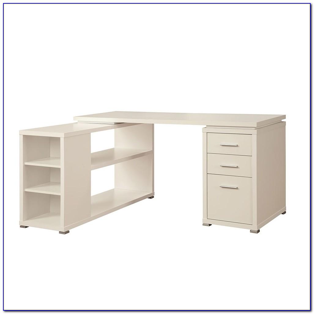 Corner Desk Storage Unit