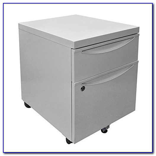 Corner Desk With Locking File Cabinet