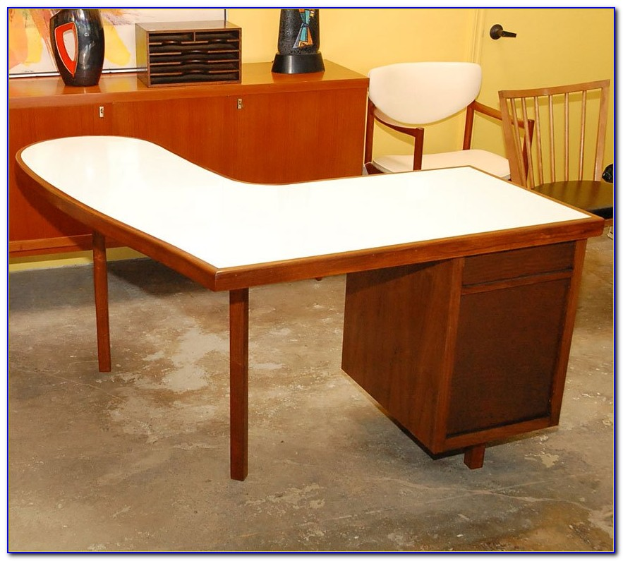 Curved L Shaped Desk