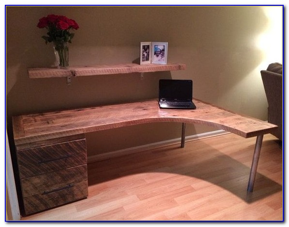 Curved L Shaped Reception Desk