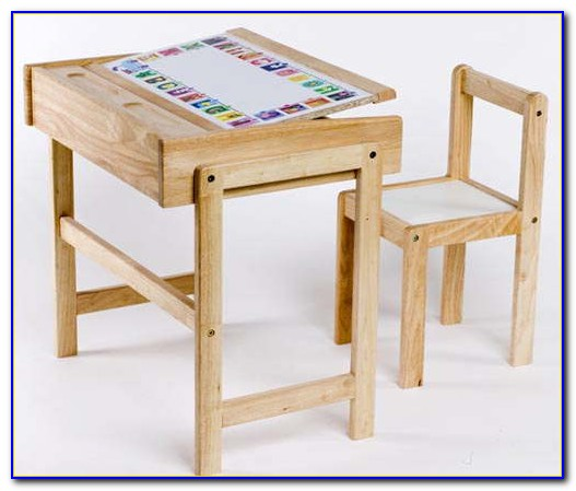 Desk And Chair Set For Kid