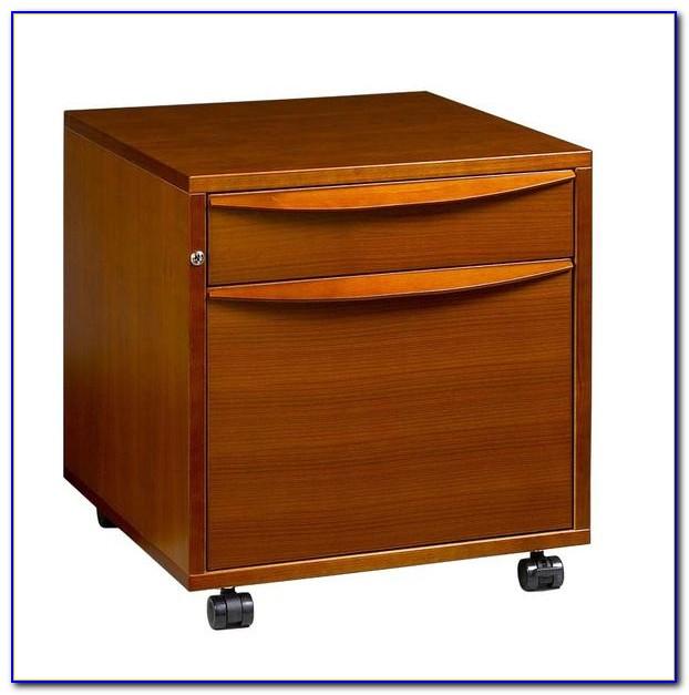 Desk With File Cabinet Diy