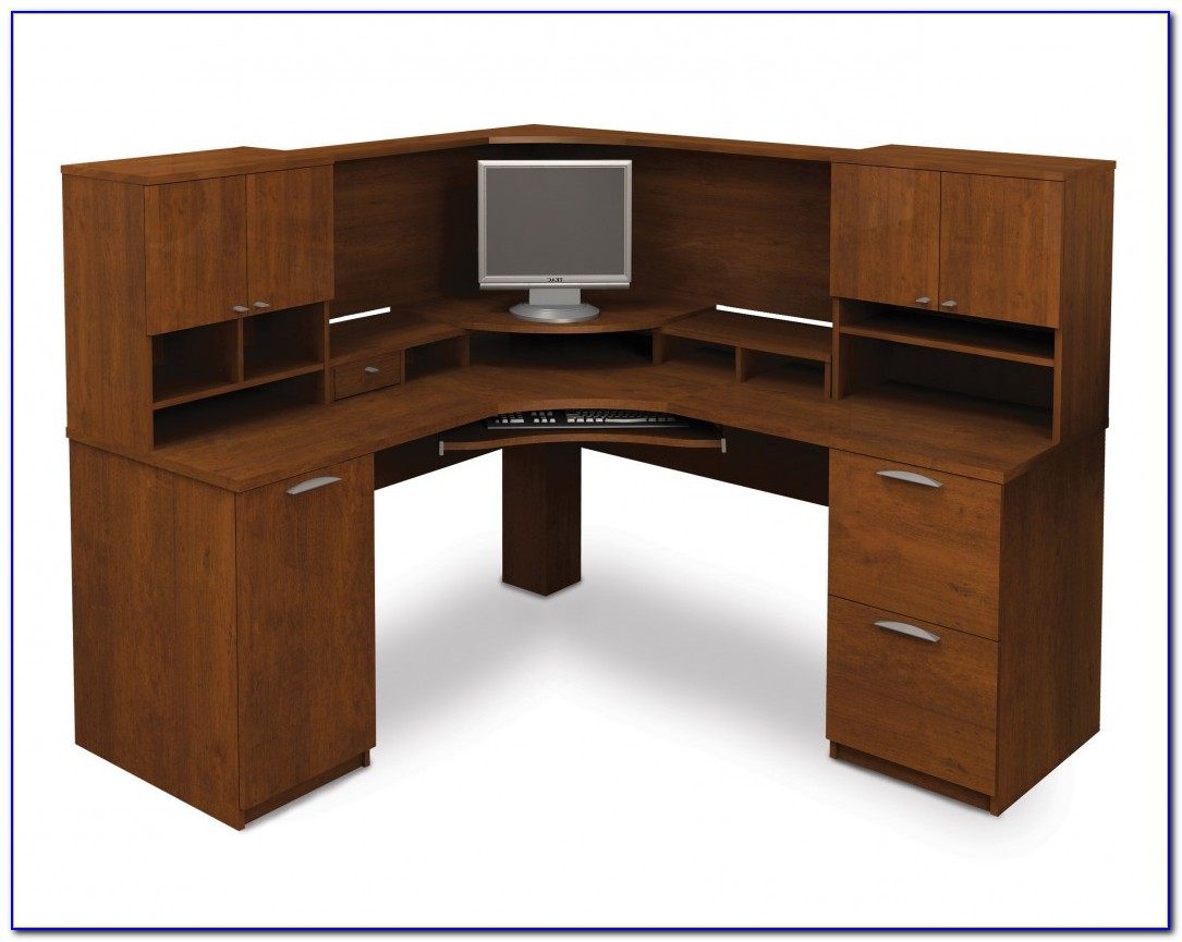 Desktop Corner Shelf Unit