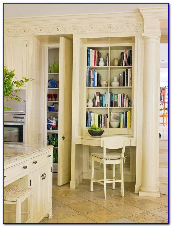 Diy Built In Bookshelves With Desk
