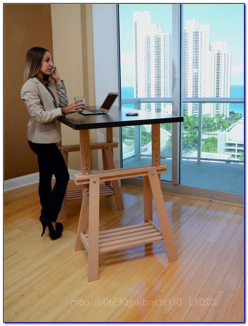 Do It Yourself Adjustable Standing Desk