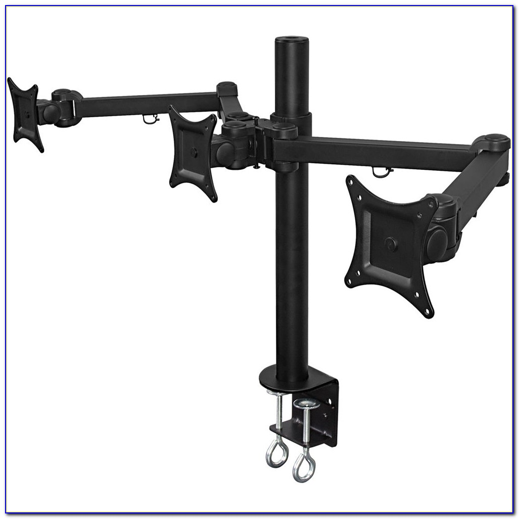 Dual Lcd Monitor Desk Mount Stand