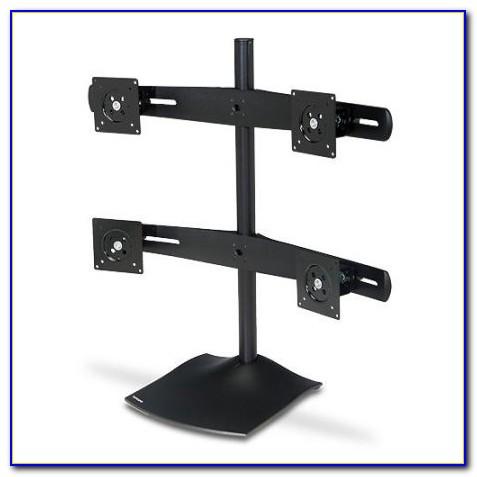 Ergotron Ds Series Ds100 Quad Monitor Desk Stand