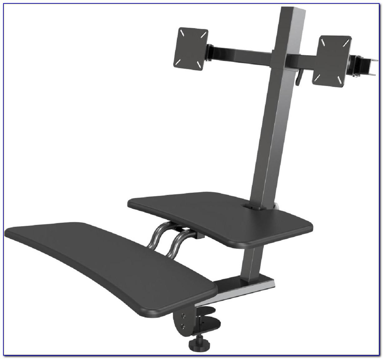Ergotron Workfit S Sit Stand Desk Attachment