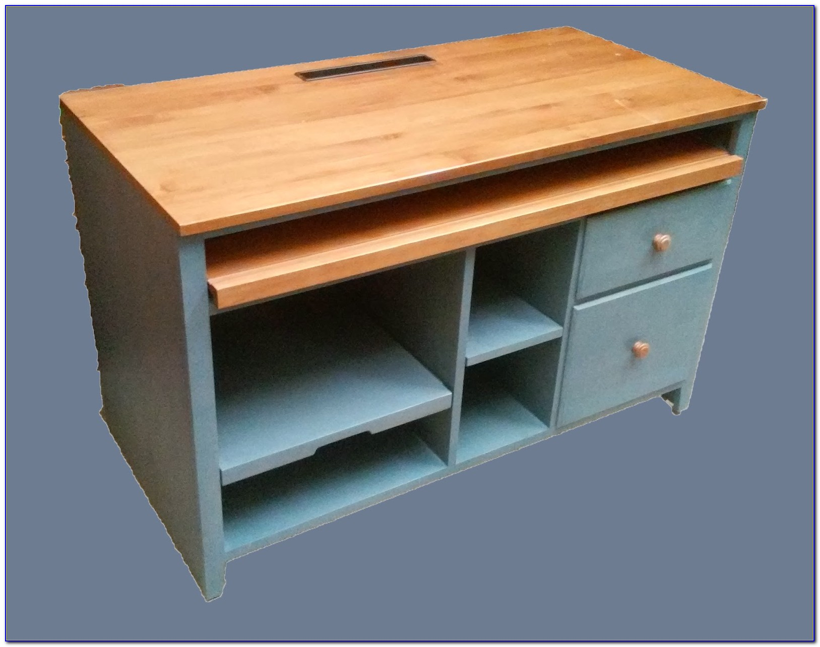 Ethan Allen Computer Desk Used