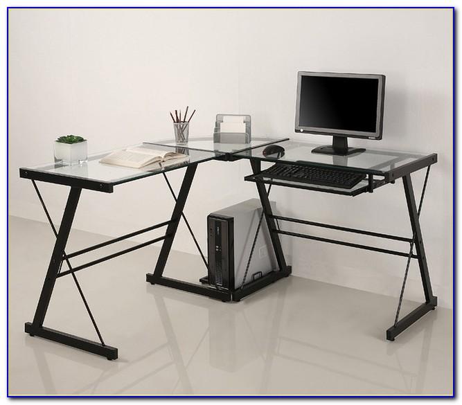 Glass L Shaped Desk Uk