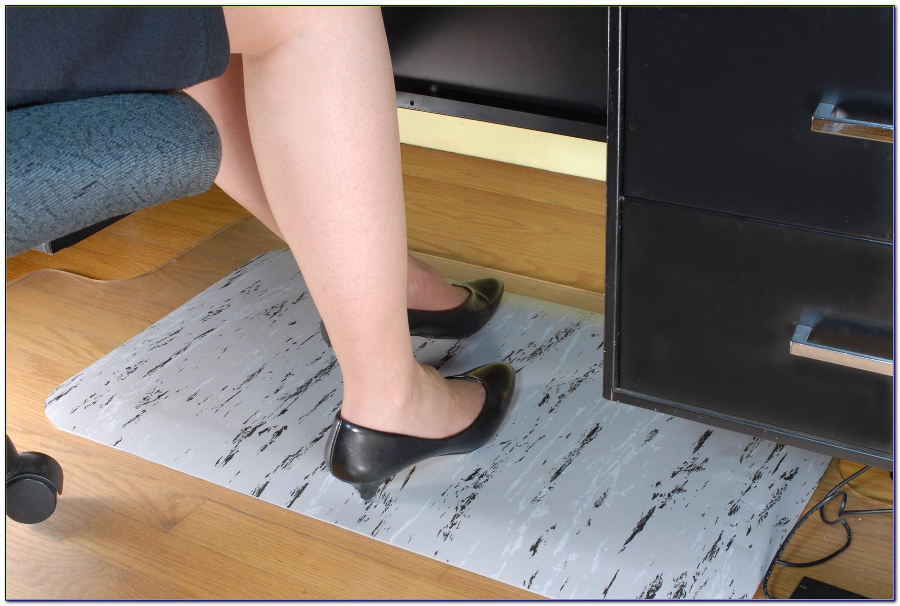Heated Floor Mat Under Desk