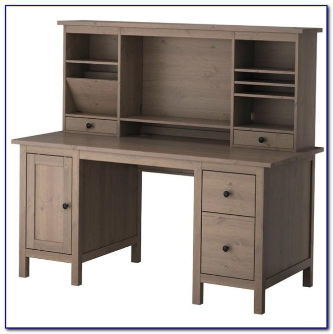 Ikea Alve Secretary Desk With Hutch
