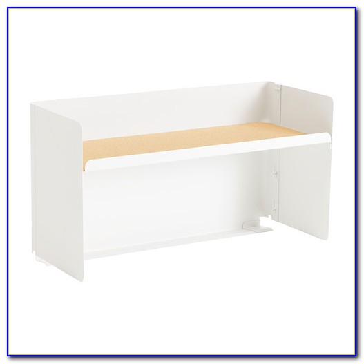 Ikea Desk With Shelves Above