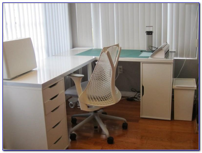 Ikea Malm L Shaped Desk