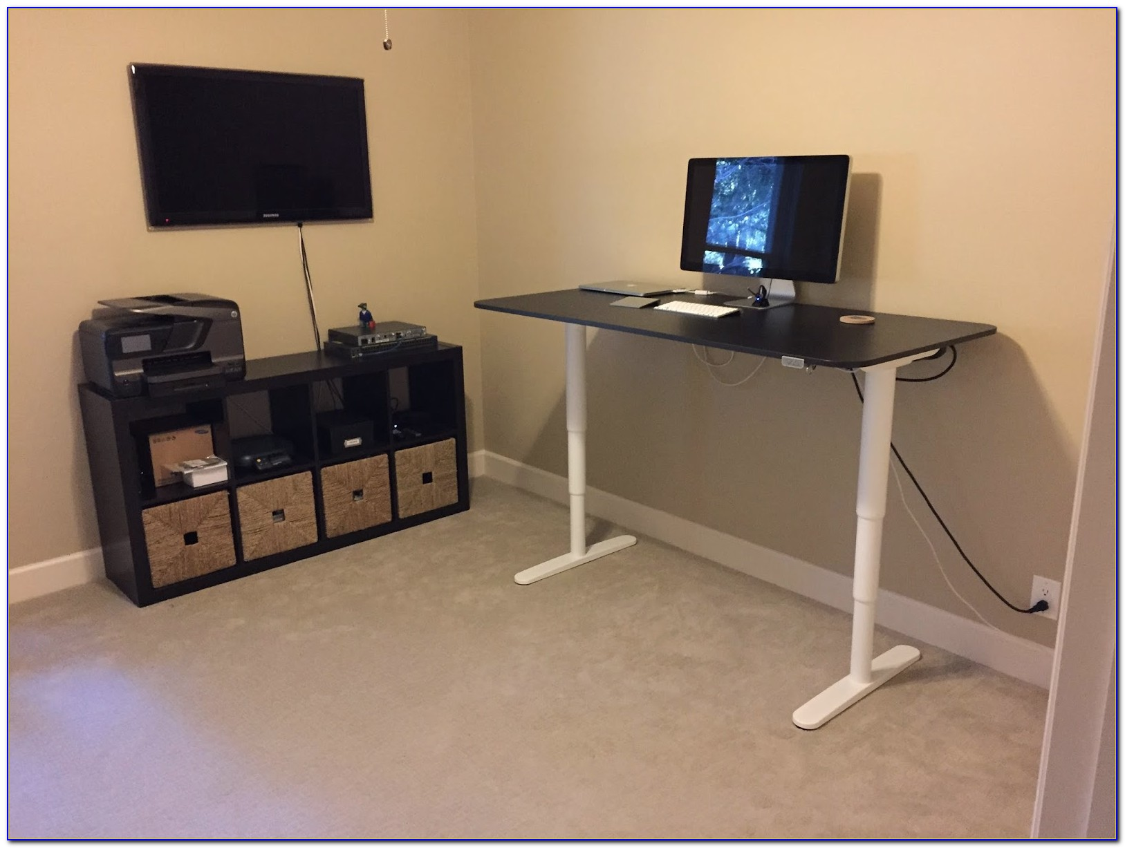 Ikea Stand Up Desk Conversion
