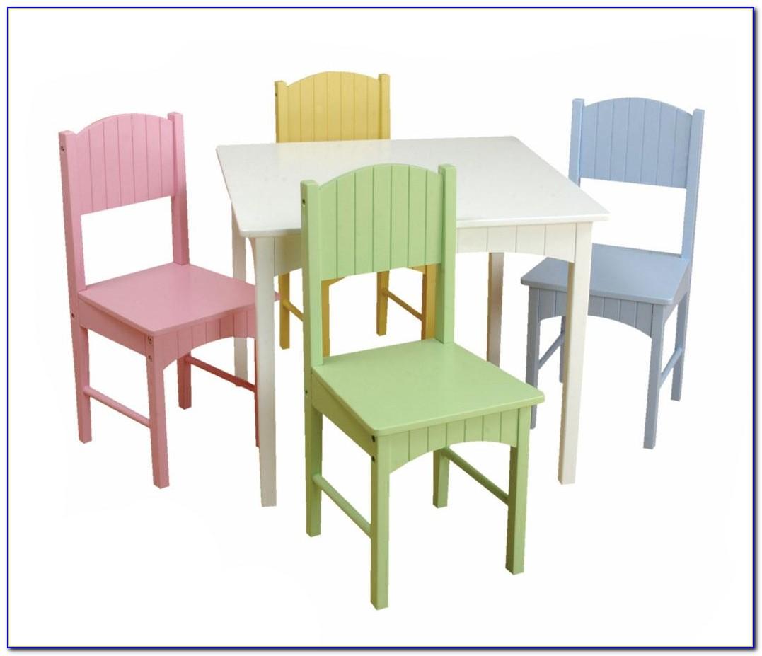 Kidkraft Avalon Desk And Chair In White