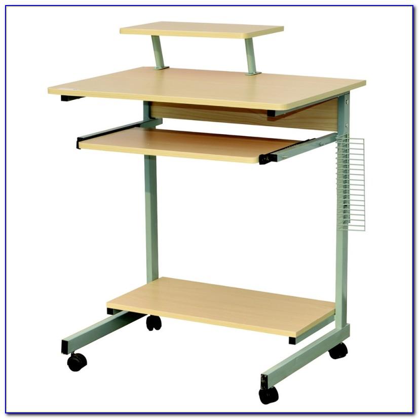 Laptop Desk Stand On Wheels