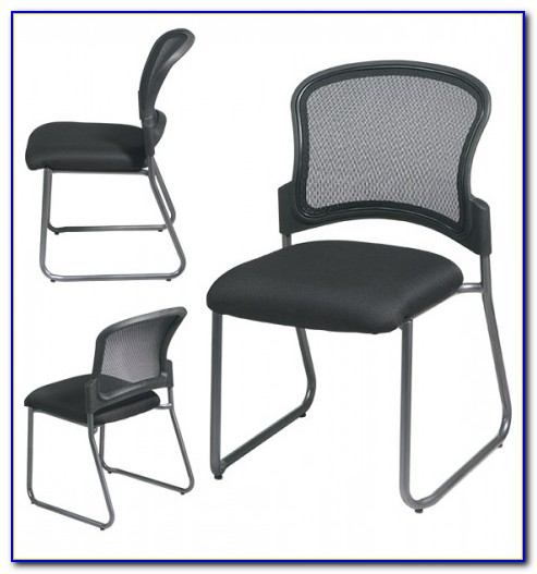 Leather Office Chair Without Casters