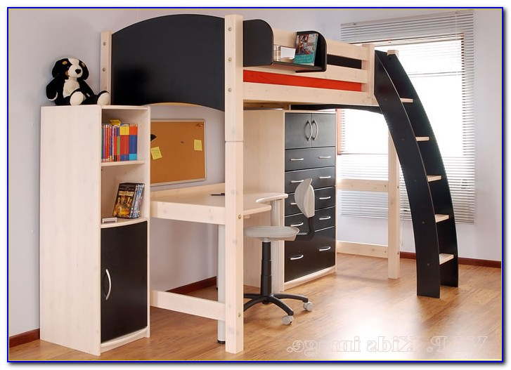 Loft Bed With Desk Underneath Australia