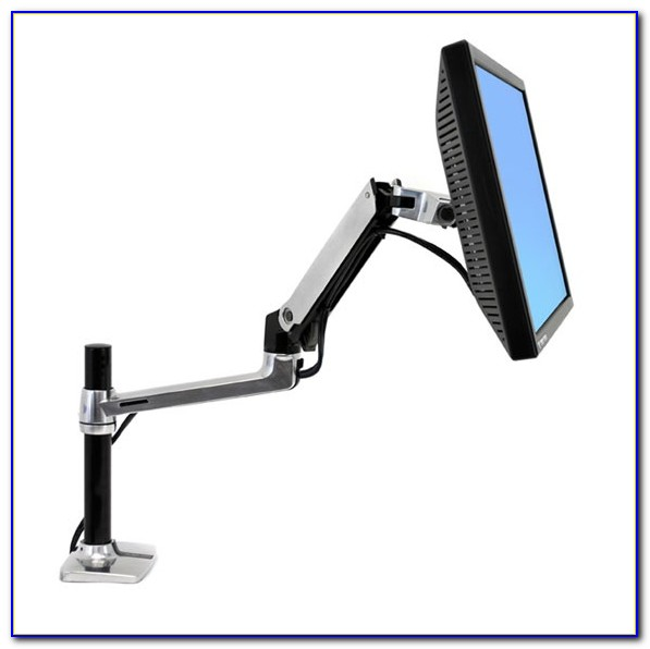Lx Desk Mount Lcd Monitor Arm Tall Pole
