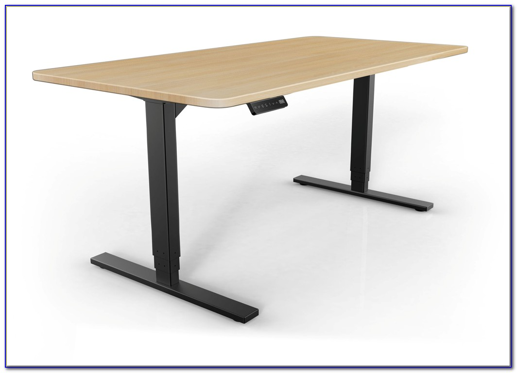 Manual Height Adjustable Stand Up Desk