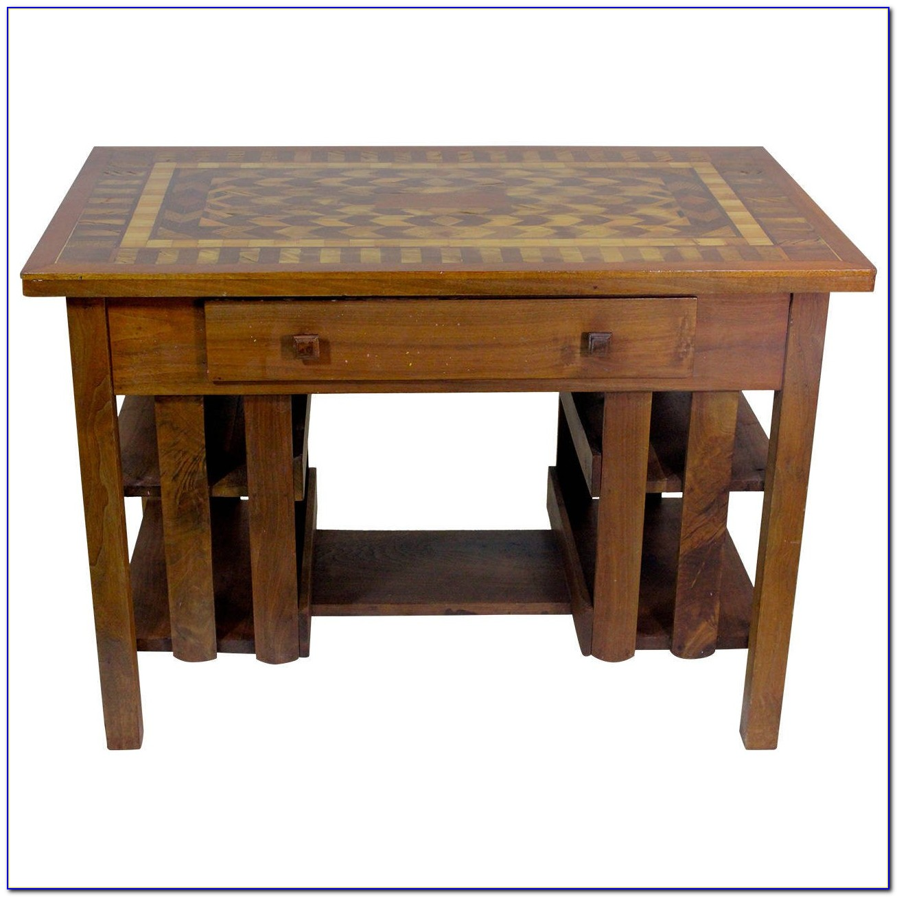 Mission Style Executive Writing Desk