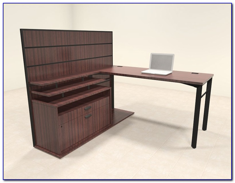 Modern L Shaped Home Office Desks