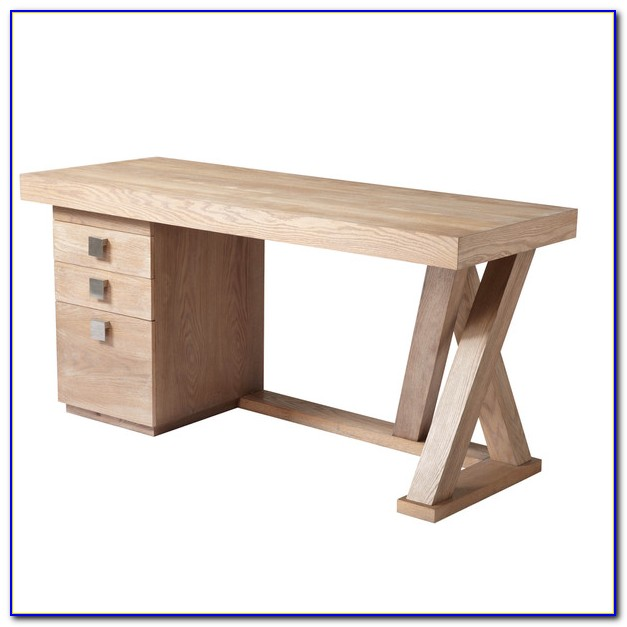 Modern Small Desk With Drawers