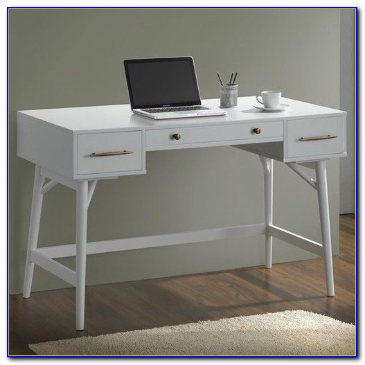 Modern Writing Desk With Drawers