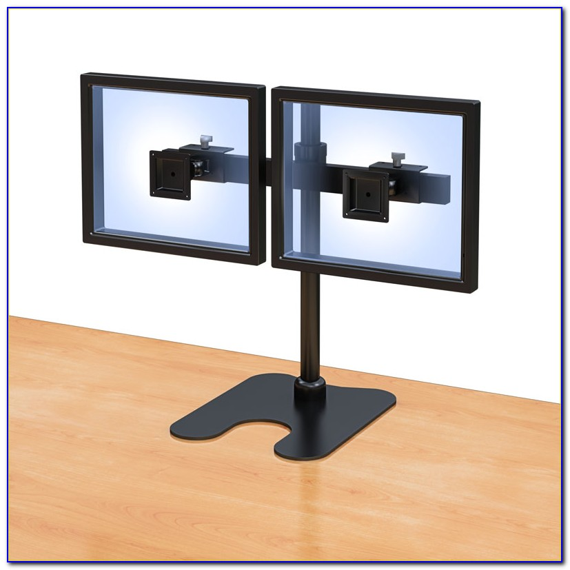Monitor Stand For Desk With Storage