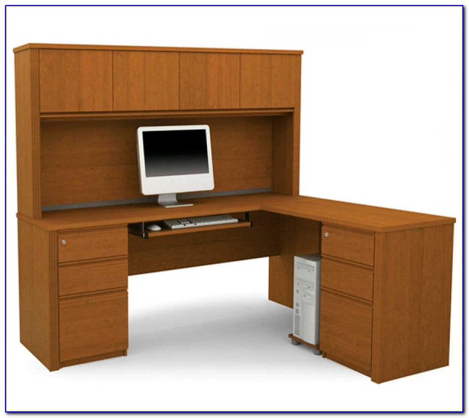 Office Max L Shaped Desk With Hutch