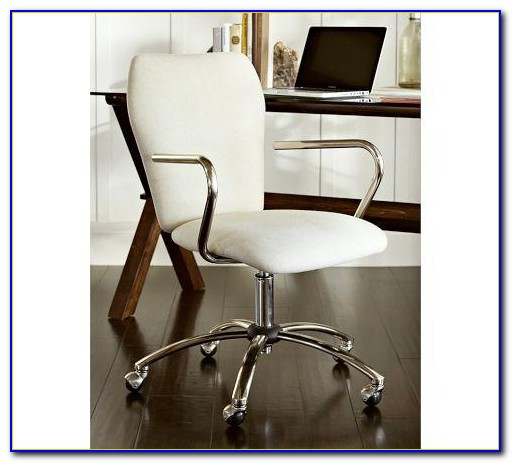 Pottery Barn Manchester Swivel Desk Chair
