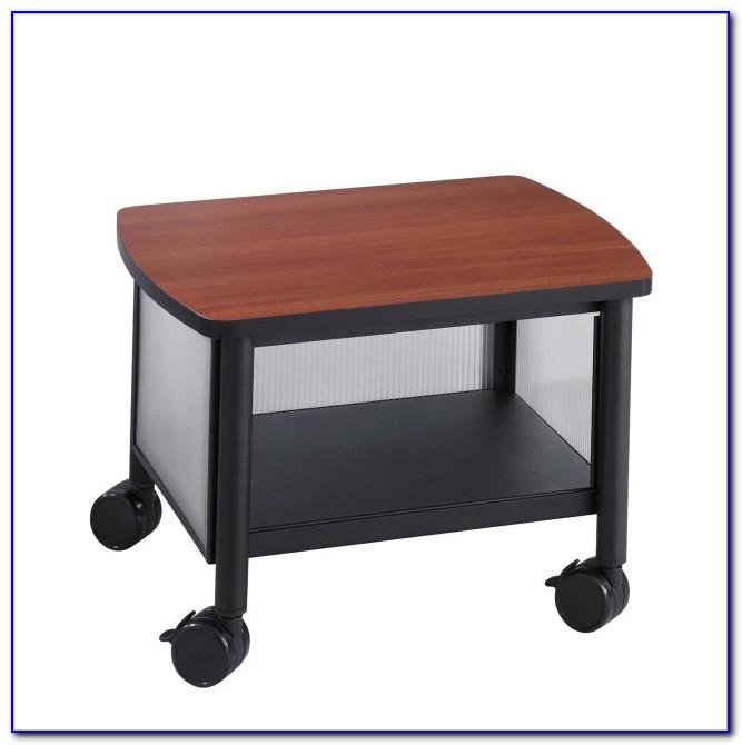 Printer Stand Desk Organizer
