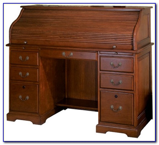 Riverside Furniture Barrel Roll Top Desk