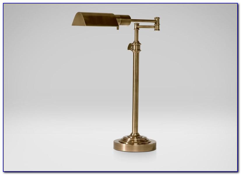 Robert Abbey Kinetic Antique Brass Pharmacy Desk Lamp