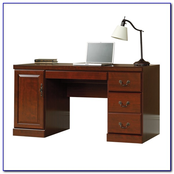 Sauder Heritage Hill Computer Desk With Hutch