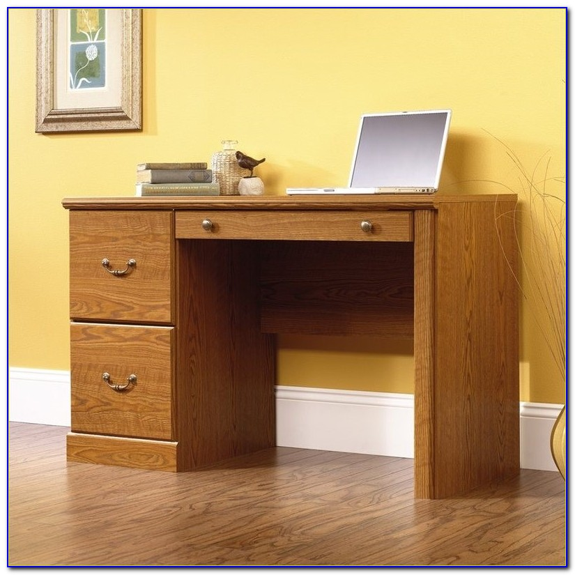 Sauder Orchard Hills Computer Desk With Hutch And File Drawer