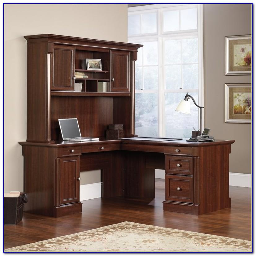 Sauder Palladia Computer Desk Multiple Finishes
