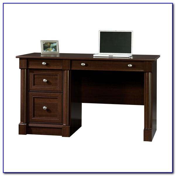 Sauder Palladia Computer Desk With Hutch