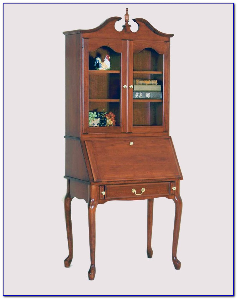 Secretary Desk And Hutch