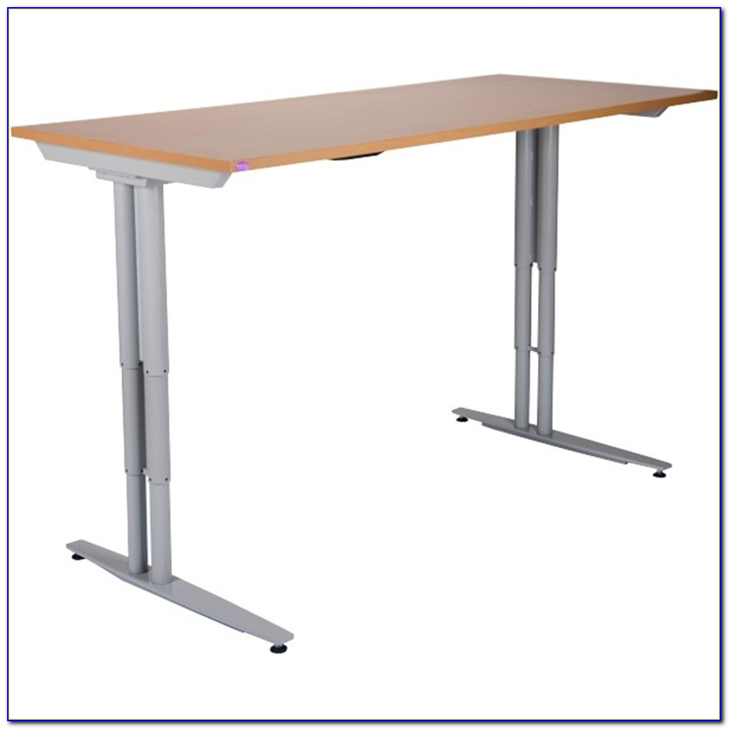 Single Column Electric Height Adjustable Desk Frame