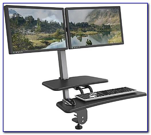 Sit Stand Desk Attachment
