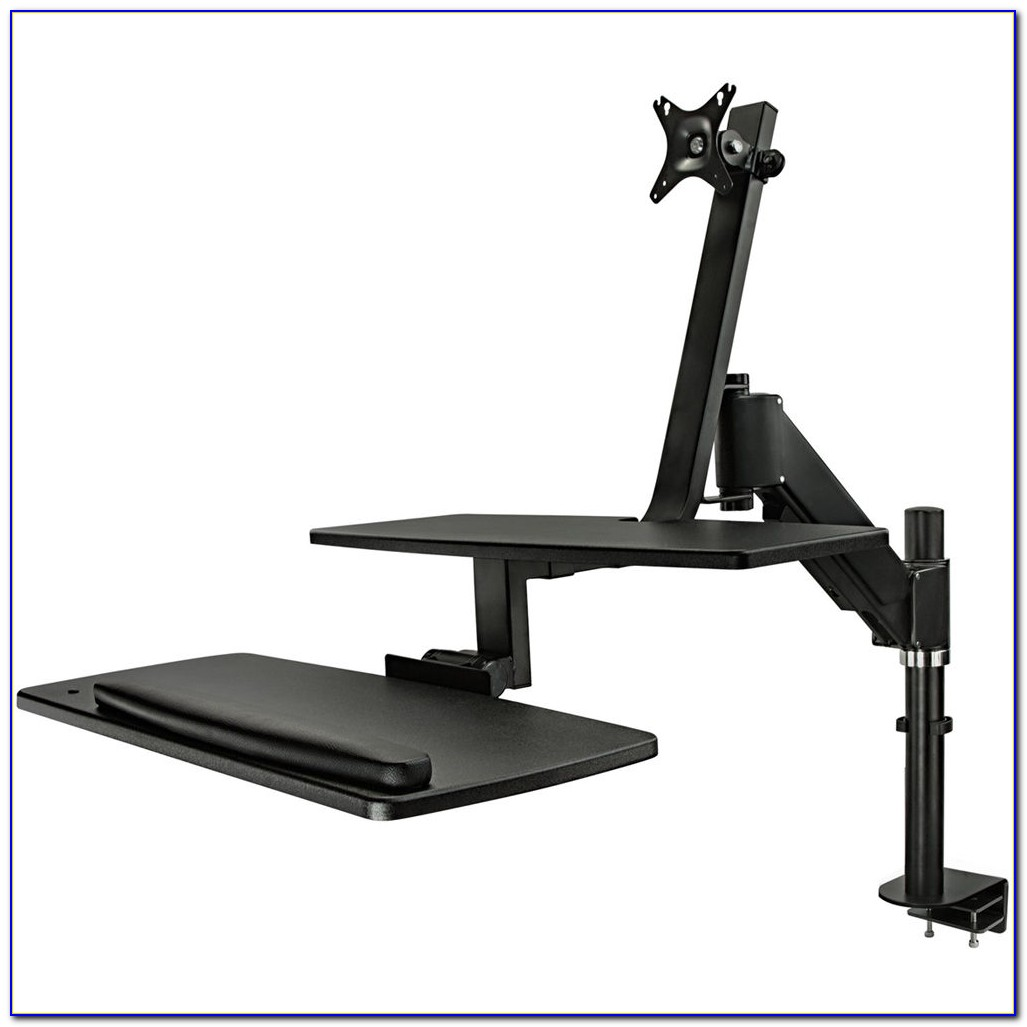 Sit Stand Desk Mount System