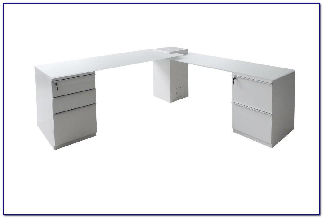 Small L Shaped Desk White