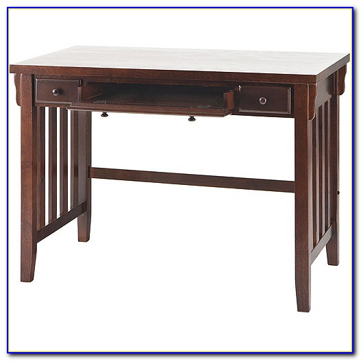 Small Mission Style Writing Desk