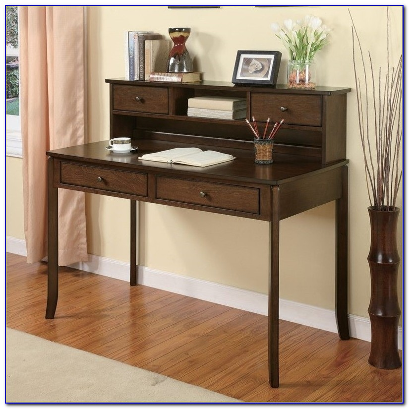 Small Writing Desk With Hutch