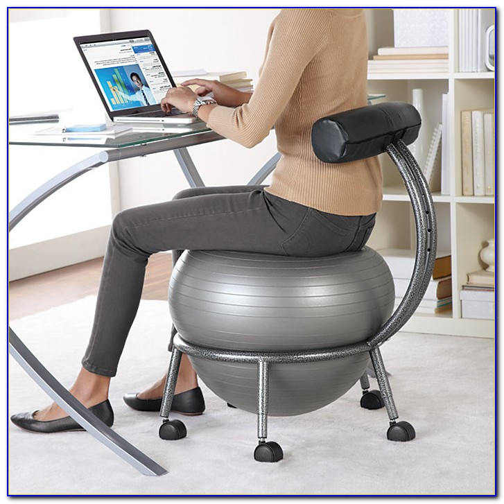 Stability Ball Office Chair Workouts