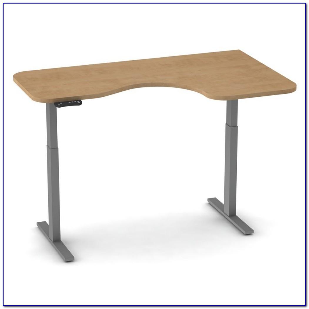 Stand Up Corner Computer Desk